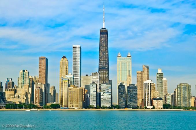Chicago Illinois lake front