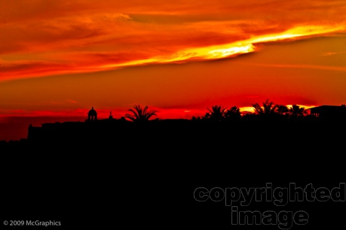 Sunset | Cabo San Lucas | Mexico | Stock Photo