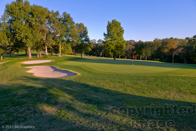 Sunset Country Club Golf Course | Stock Photo