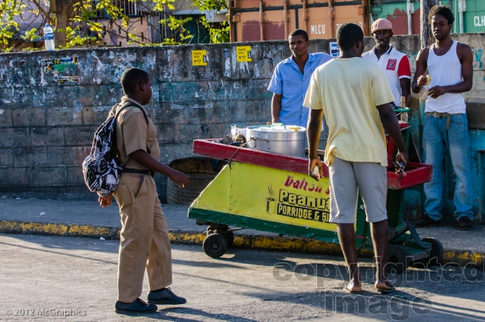 Montego Bay | On the way to Accompong | Stock Photo