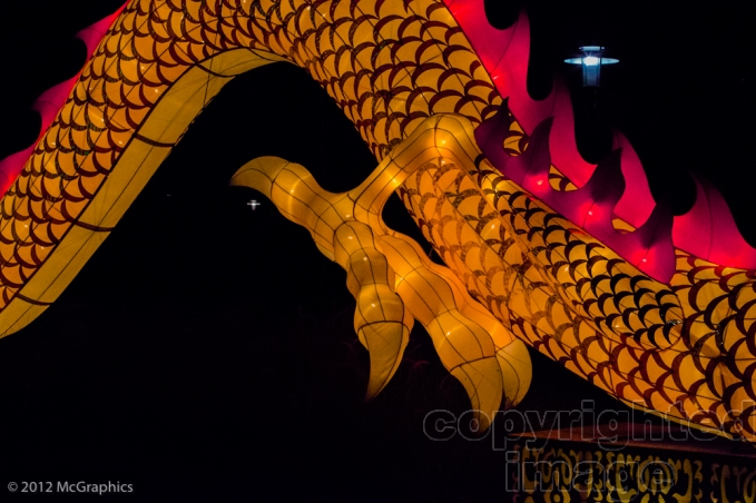 Lantern Festival | Welcome Dragon | Missouri Botanical Garden | Stock Photo