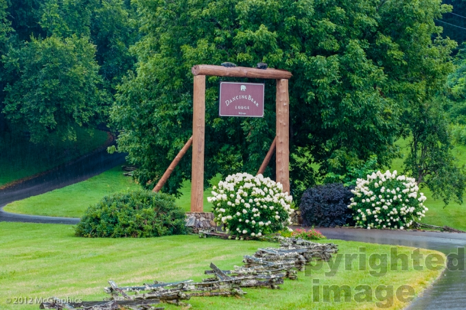 Dancing Bear Lodge | Smoky Mountains | Stock Photo
