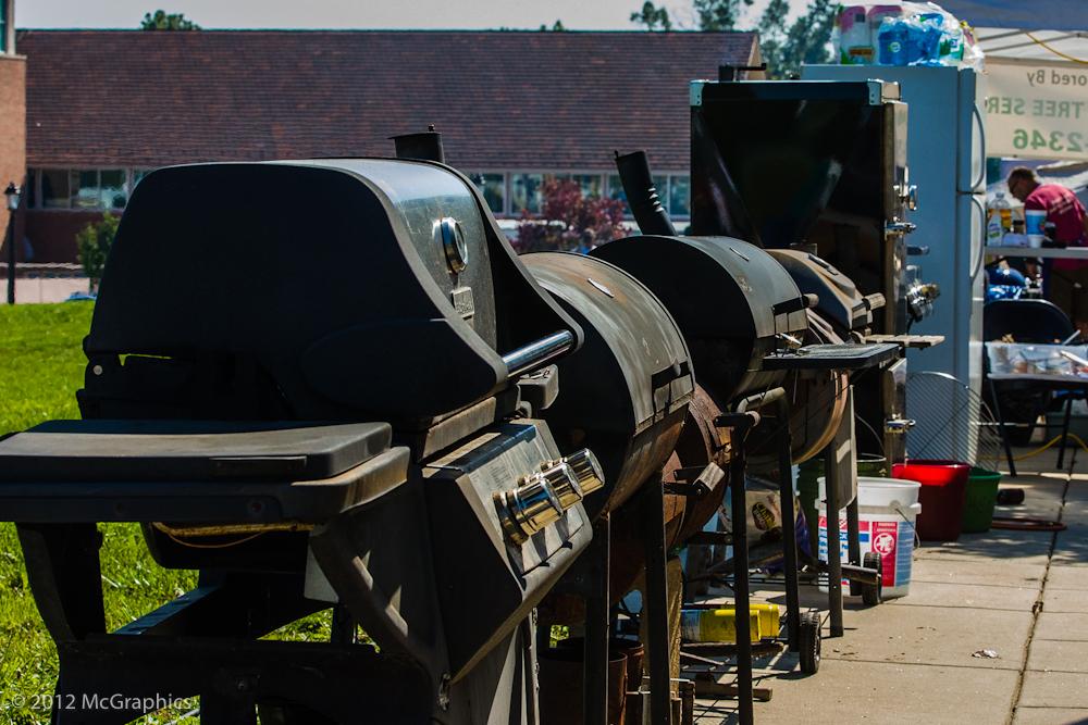 Wildwood BBQ Bash | BBQ Pits | Stock Photo