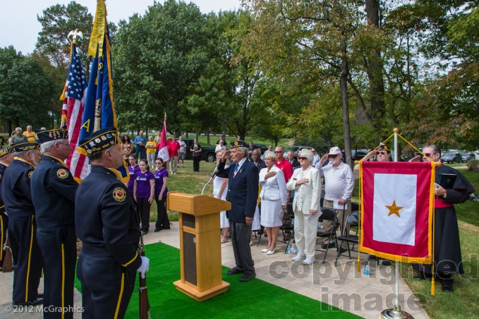 Color Guard - Start of the Ceremony & Unveiling of Monument
