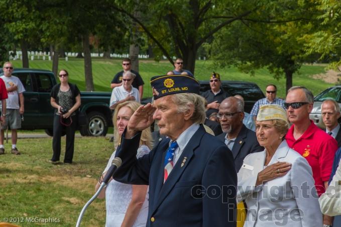 Skip Berger - Adjutant, American Legion Post #15 and Master Of Ceremonies