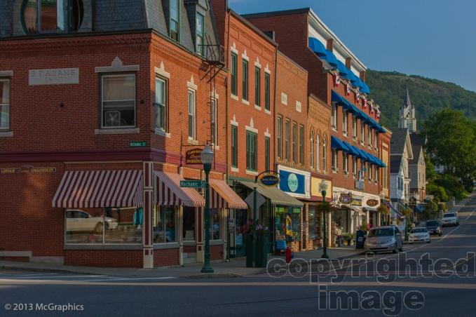 Main Street in Camden, Maine.