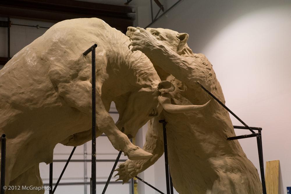 Bull & Bear by Harry Weber for Stifel in St Louis, MO